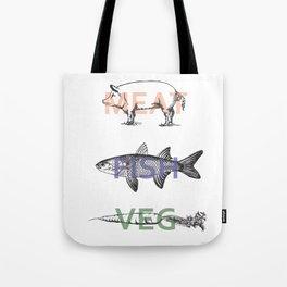 Food Groups Tote Bag