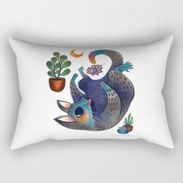 Little Shit Rectangular Pillow