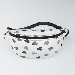 Hearts texture Fanny Pack