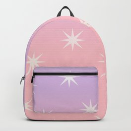 Gradient Star Pattern Backpack