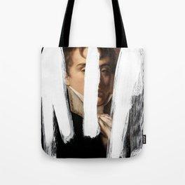 Brutalized Portrait of a Gentleman 2 Tote Bag