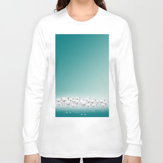 Flamingo Long Sleeve T-shirt