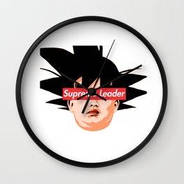"Kim Jong Un ""Supreme Leader"" Wall Clock"