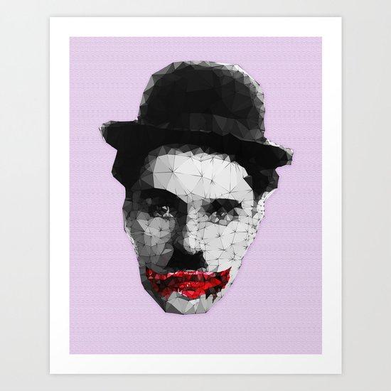 Charlie the Joker Art Print