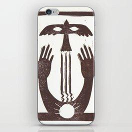 Trust (White) iPhone Skin