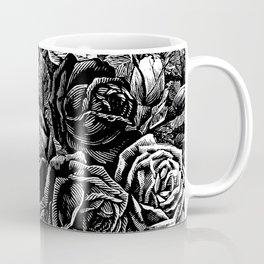 Beautiful Black&White Roses Coffee Mug