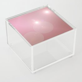 Pinkish Pastel Acrylic Box