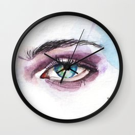 Hanging by a Thread Wall Clock