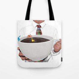 KeithHaring coffee Tote Bag