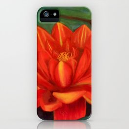 Waterlilly iPhone Case