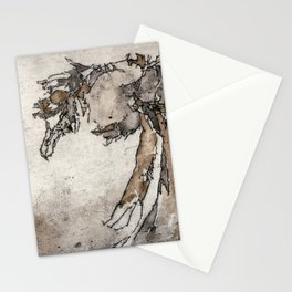 Sea Bird | Watercolored Etching Stationery Cards