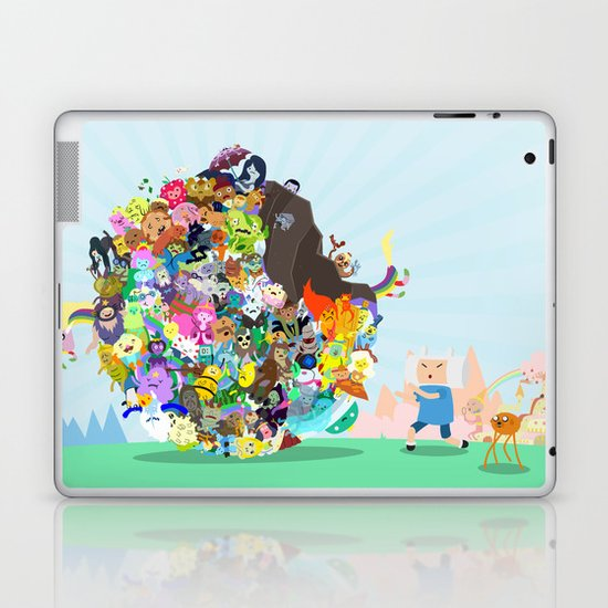 Adventure Time - Land of Ooo Katamari Laptop & iPad Skin
