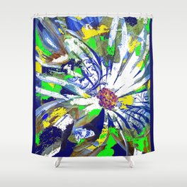 Summer Menagerie Shower Curtain