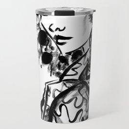 Black & White Ego Travel Mug