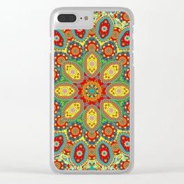 Colors of India Clear iPhone Case