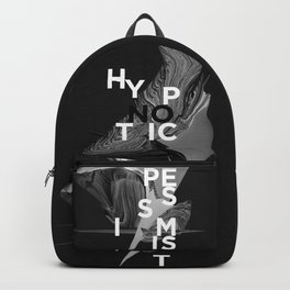 hypnotic pessimist Backpack