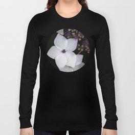 Purple and Blue Hydrangea Long Sleeve T-shirt