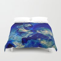 angels Duvet Covers featuring angels by  Agostino Lo Coco