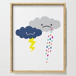 Rain Rain Go Away Serving Tray
