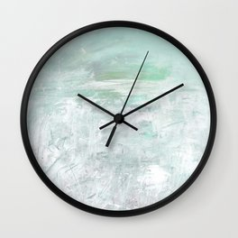 Lost In Serenity No.1d by Kathy Morton Stanion Wall Clock