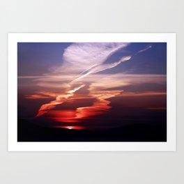 Sunset Dance Art Print