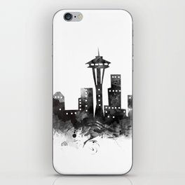 Seattle Skyline iPhone Skin