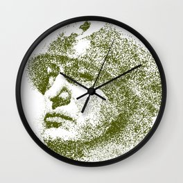 Mussolini For President Wall Clock