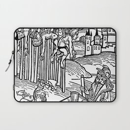 Vlad the Impaler and his victims Laptop Sleeve