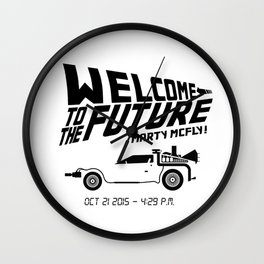 BACK TO THE FUTURE #2 Wall Clock