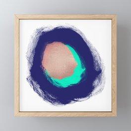 Metallic Hole Framed Mini Art Print