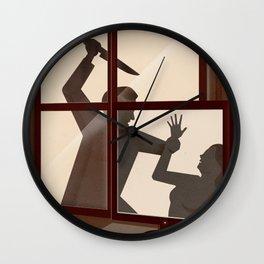 True Crime - The rise of crime TV documentaries - For SAS Scandinavian Traveler Inflight Magazine Wall Clock