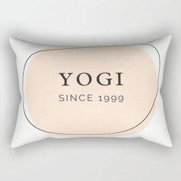 Yogi Since 1999 by Christie Olstad Rectangular Pillow