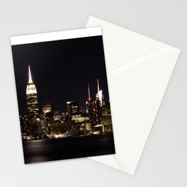 Empire at Night Stationery Cards