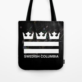 Swedish Columbia Logo (Classic) Tote Bag