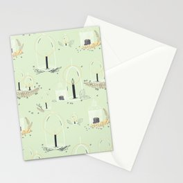 Fairy Land (mint) Stationery Cards