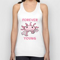 forever young Tank Tops featuring Forever Young by Janusz Kali Kaliszczak