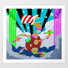 POKEMON: Rave Shuckle Art Print