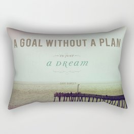 A Goal Without A Plan Rectangular Pillow