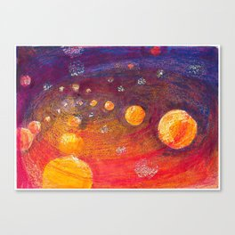 Vax and Ink - orbit Canvas Print