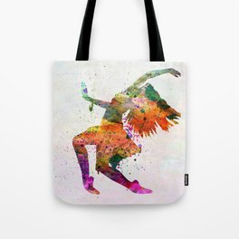 dancing to the night Tote Bag