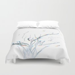 Roots of time Duvet Cover