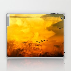 Flight at the Golden Hour Laptop & iPad Skin