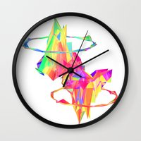 atlas Wall Clocks featuring ATLAS by DIZYGOTIK