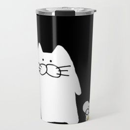 cat and mouse 223 Travel Mug