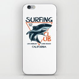 Surfing Club LA Long Beach iPhone Skin