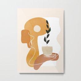 Minimal Abstract Shapes No.76 Metal Print