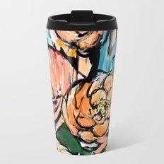 Vibrant Floral Travel Mug
