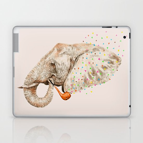 Elephant Sailor Laptop & iPad Skin