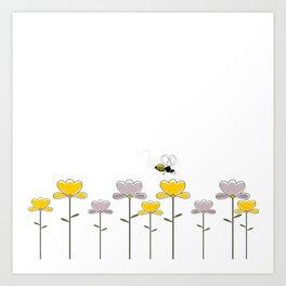 "Let it ""bee"" Art Print"