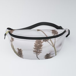 Plants in the snow Fanny Pack